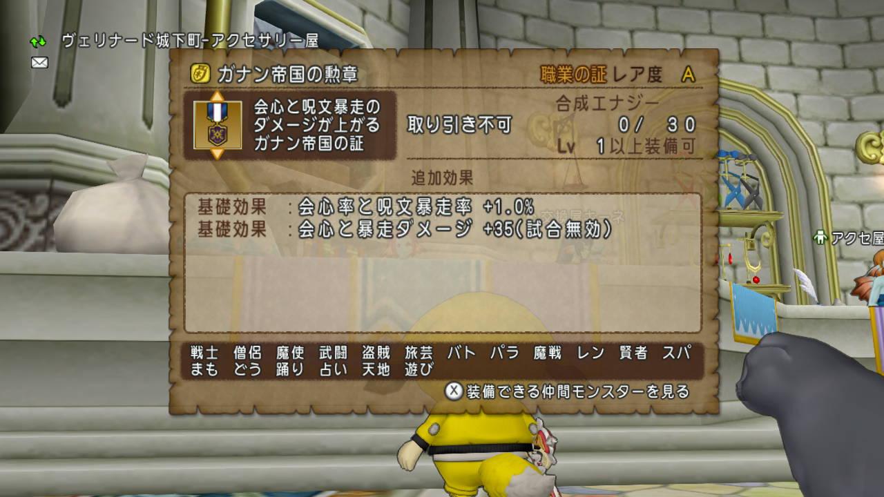 将軍 ドラクエ 10 耐性 三